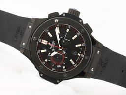 Perfect Fake Hublot Big Bang King Chronographe Asie Valjoux 7750 Mouvement PVD AAA Montres [ S3X4 ]