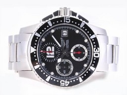 Faux cool Longines Chronographe HydroConquest V Asie Valjoux 7750 Mouvement AAA Montres [ R5E3 ]