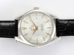 Faux populaire Omega Seamaster Aqua Terra Big Taille Or Automatique Marquage AAA Montres [ T9S1 ]