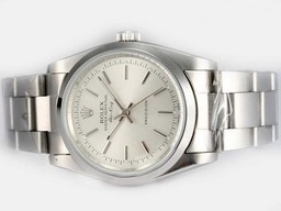 Faux Grande Rolex Air-King Oyster Perpetual automatique avec cadran blanc AAA Montres [ R4N1 ]